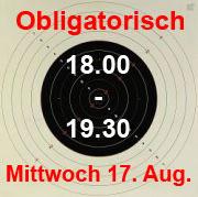 Oligatorisch 17. August 16