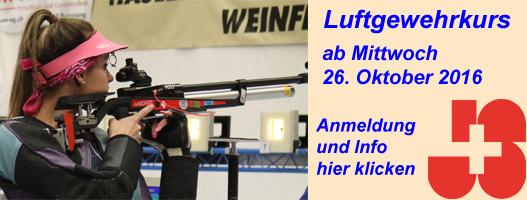 Luftgewehrkurs 2016